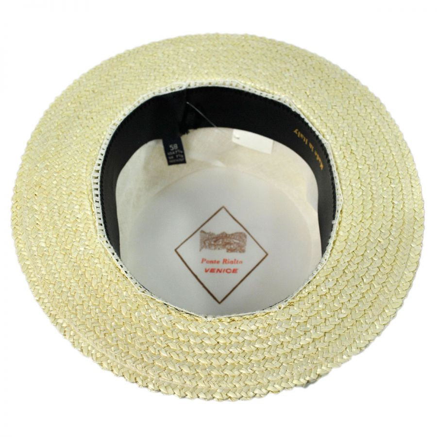 3b3671700 Italian Straw Skimmer Hat