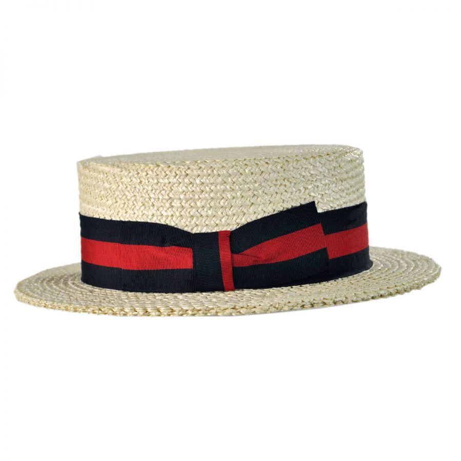 capas headwear italian straw skimmer hat straw hats. Black Bedroom Furniture Sets. Home Design Ideas