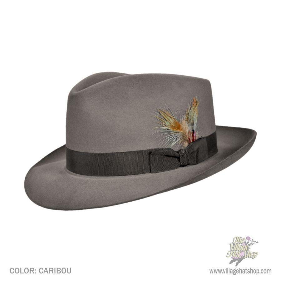 Stetson Chatham Fur Felt Fedora Hat All Fedoras f6be4246328