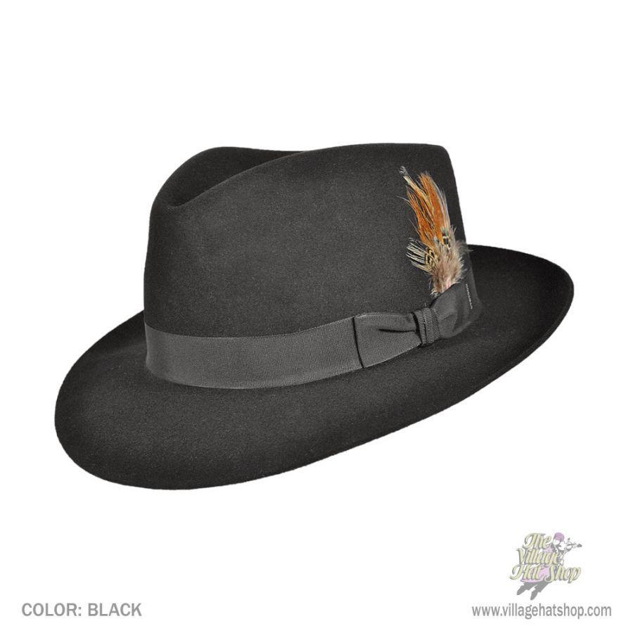 479ff0c0d5787 ... Fedora Line Art  Stetson Chatham Fur Felt Fedora Hat All Fedoras