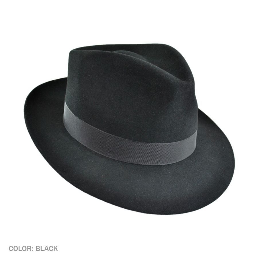 Stetson Downs Fur Felt Fedora Hat All Fedoras a1a01436f0cf