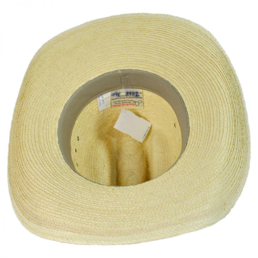 Cattleman Guatemalan Palm Leaf Straw Hat