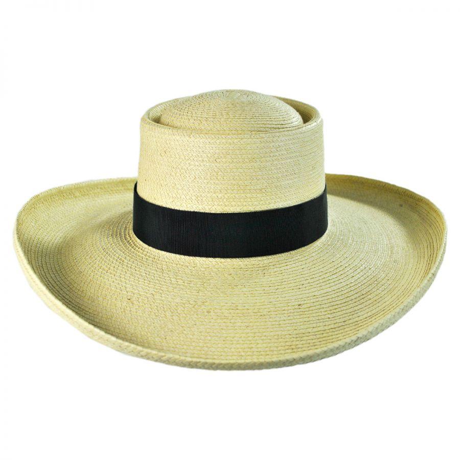 6a02b4205 Sam Houston Planter Guatemalan Palm Leaf Straw Hat