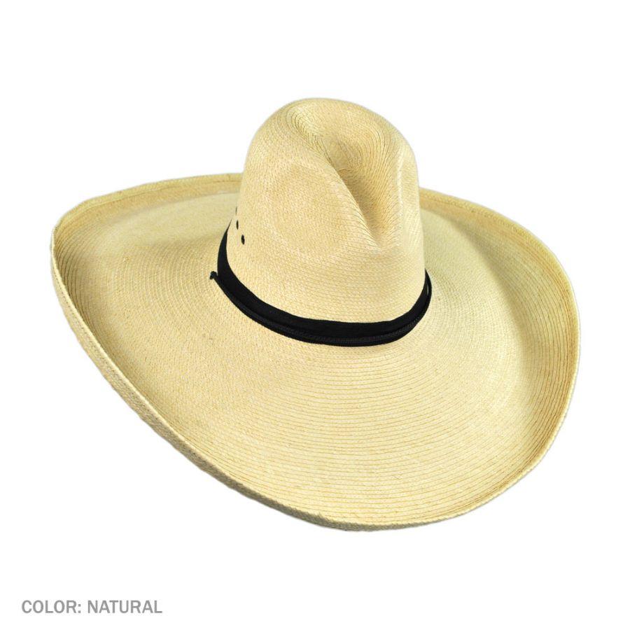 SunBody Hats Gus Wide Brim Guatemalan Palm Leaf Straw Hat Straw Hats 150995f502e