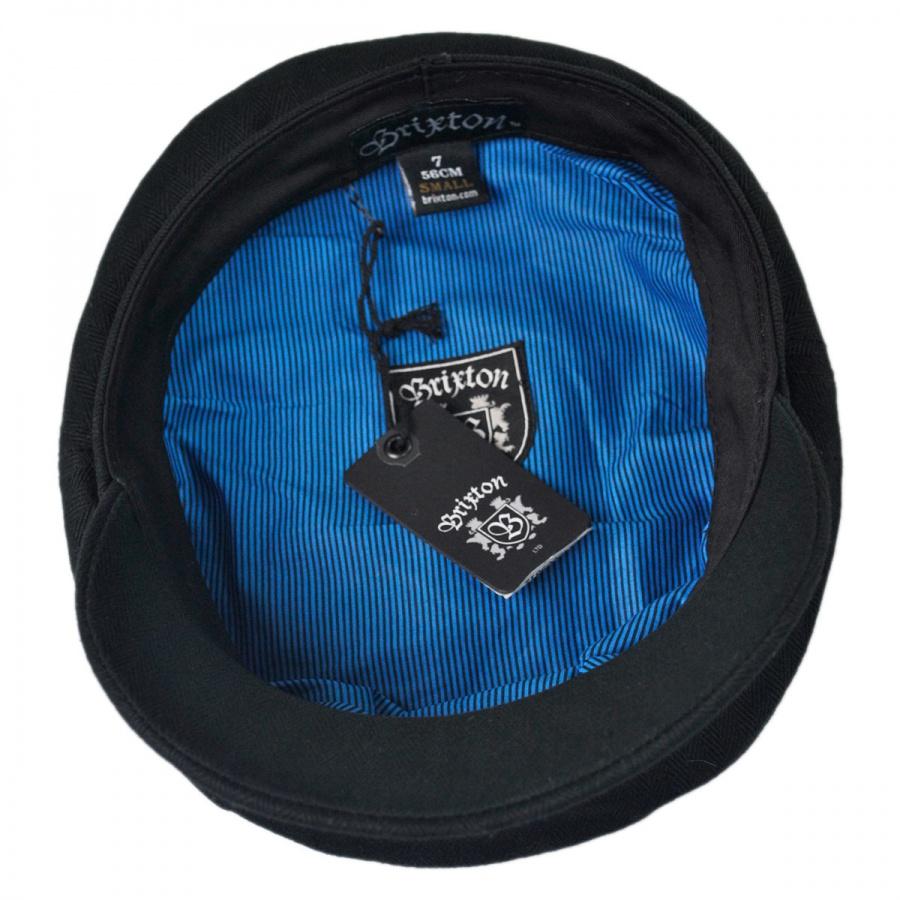 d4d50d08735 Brixton Hats Herringbone Cotton Fiddler Cap Greek Fisherman Caps