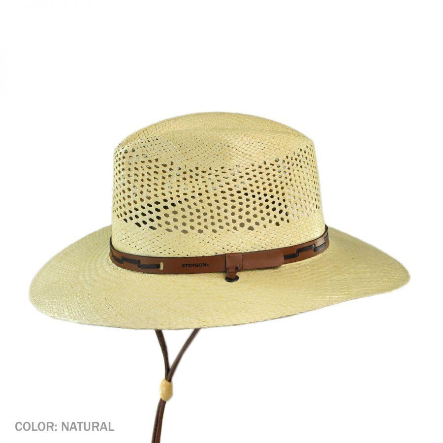 Fedora Toyo Straw Hat by Stetson Sun hats Stetson NTQkMNyrEy