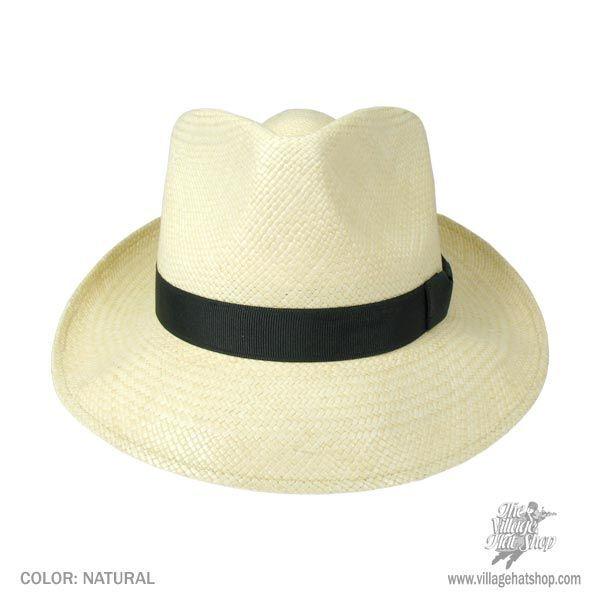 Stetson Retro Panama Straw Fedora Hat Panama Hats b99e85367d3