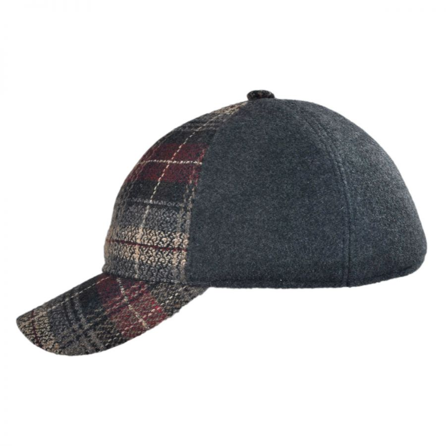bigalli bigalli plaid solid baseball cap all baseball caps