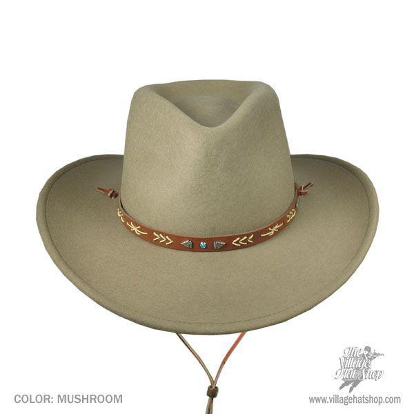 Stetson Santa Fe Wool Felt Western Hat Western Hats 2984a965baa