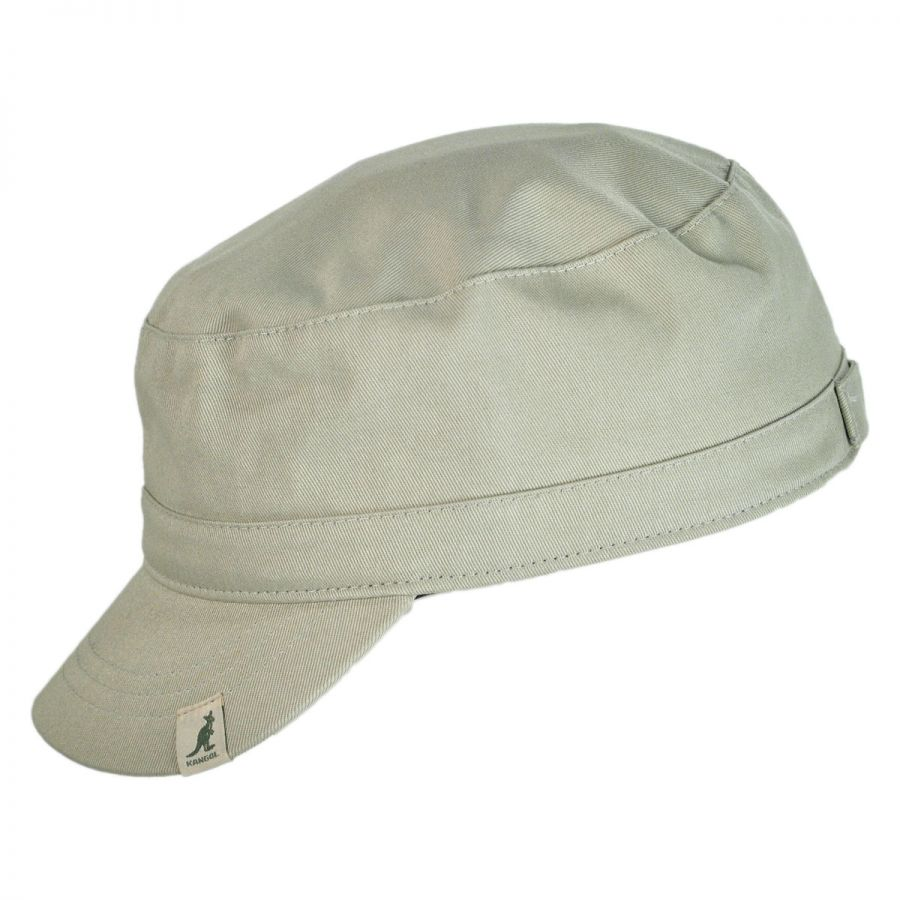 Kangol Cotton Adjustable Army Cap Cadet Caps 2f9a69ea653