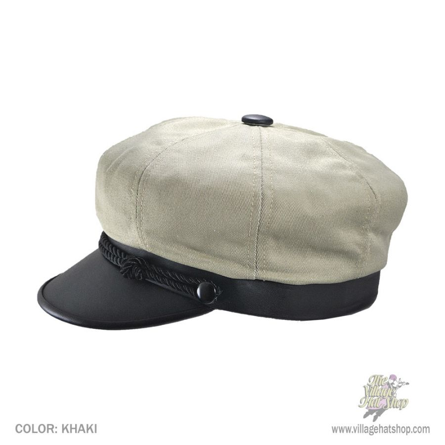 New York Hat Company Brando Cotton Canvas Cap Newsboy Caps 9ba34840c0f