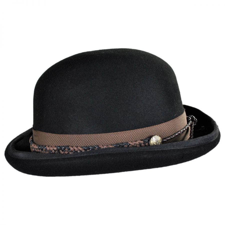 Vintage Derby / Bowler Hats. Americans call it a derby, after the Earl of Derby who helped popularize it. But, Englishmen know it as a bowler as it was first introduced in the early's in England and produced by the Bowler Brothers Company.