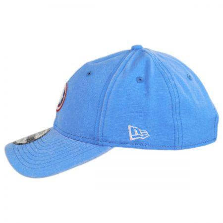 6f93a12d90b Marvel Captain America Rugged 9Twenty Strapback Baseball Cap Dad Hat ...