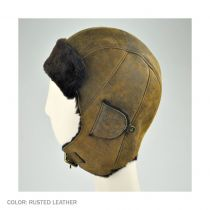 Kodiak Leather Trapper Hat