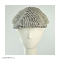 Redford Striped 8/4 Ivy Cap