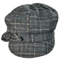 Adele Plaid Cap