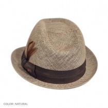 Delano Deep Dip Crown Fedora Hat 3