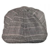 Brushed Plaid 504 Newsboy Cap
