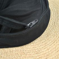 Regatta Cotton and Raffia Straw Visor in