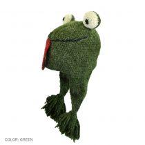 Frog Crochet Knit Beanie Hat