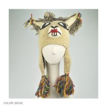 Girl Llama Beanie Hat