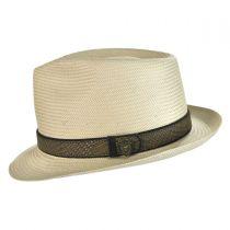 Vidalia Straw Fedora Hat