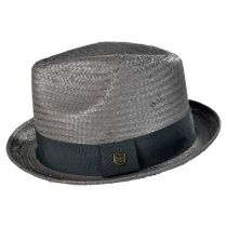 Castor Toyo Straw Fedora Hat in