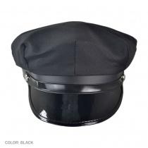 B2B Police/Chauffeur Caps Black