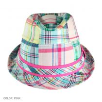 Madras Fedora Hat - Kids