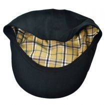 Cotton Lined Rain Six Panel Newsboy Cap