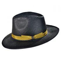 Maddock Toyo Straw Fedora Hat