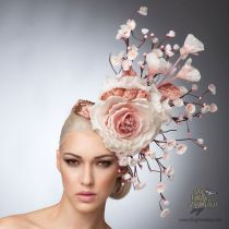 Cherry Blossoms Fascinator Hat