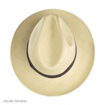 Brisa Grade 4 Panama Straw Fedora Hat alternate view 5