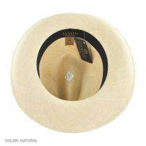 Brisa Grade 4 Panama Straw Fedora Hat alternate view 16