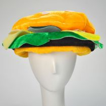 Hamburger Hat alternate view 2