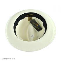 Diamante Panama Straw Fedora Hat