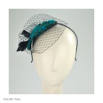 Peacock Fascinator Headband