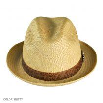 Sacred Fire Panama Straw Fedora Hat
