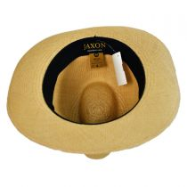 Panama Straw Fedora Hat in