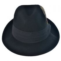 Kid's Blues Crushable Wool Felt Trilby Fedora Hat in