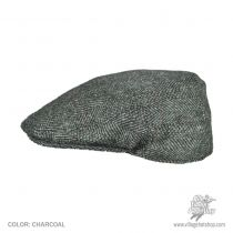 Cheesecutter Tweed Ivy Cap