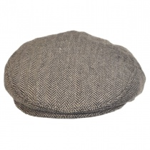 Herringbone Wool Blend Ivy Cap alternate view 2