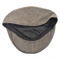 Herringbone Wool Blend Ivy Cap alternate view 4