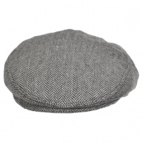Herringbone Wool Blend Ivy Cap alternate view 9