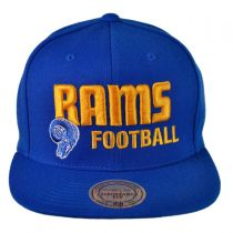 St Louis Rams NFL Blocker Snapback Baseball Cap