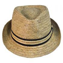 Buri Palm Braid Fedora Hat
