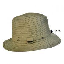Canvas Safari Fedora Hat