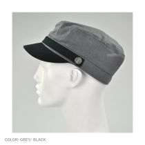 Busker Herringbone Cadet Cap