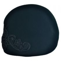 Lace Applique Ascot Cap