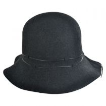 Leather Lacing Floppy Hat